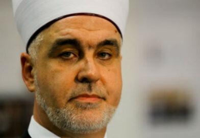"""Reisu-l-ulema Husein-ef. Kavazović: Pozivam na mir u Palestini, to je """"naša zajednička zemlja sve tri velike ibrahimovske religije""""."""